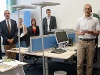 Einweihung des neuen Rechenzentrums für die Regens-Wagner-Stiftungen