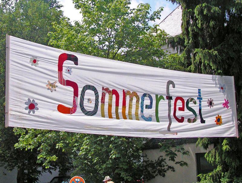 Regens Wagner feiert  im Sommer!