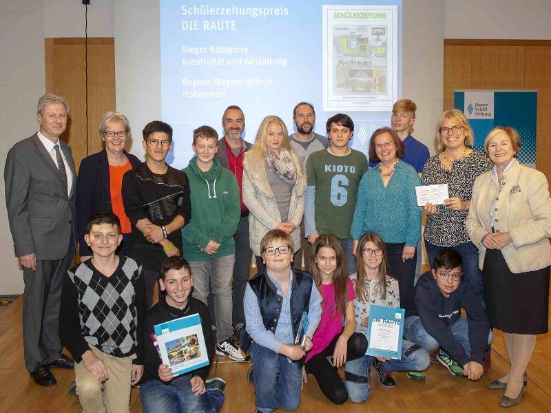 Auszeichnung für Nachwuchsjournalisten der Regens-Wagner-Schule Hohenwart