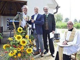 Besonderer Erntedank auf dem Müßighof von Regens Wagner Absberg