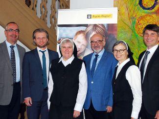 Pflegebeauftragte der Bayerischen Staatsregierung im Gespräch mit Regens Wagner