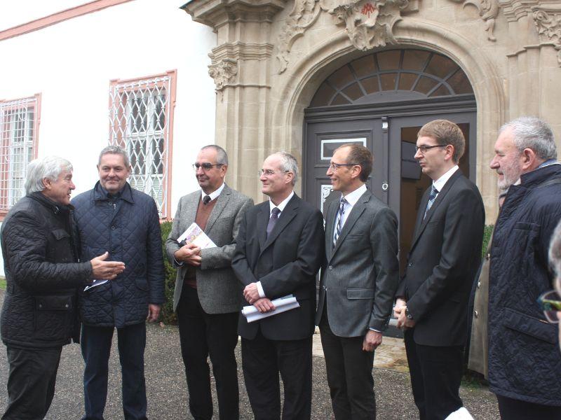Großzügige Förderung für die Sanierung des Klosters Michelfeld: