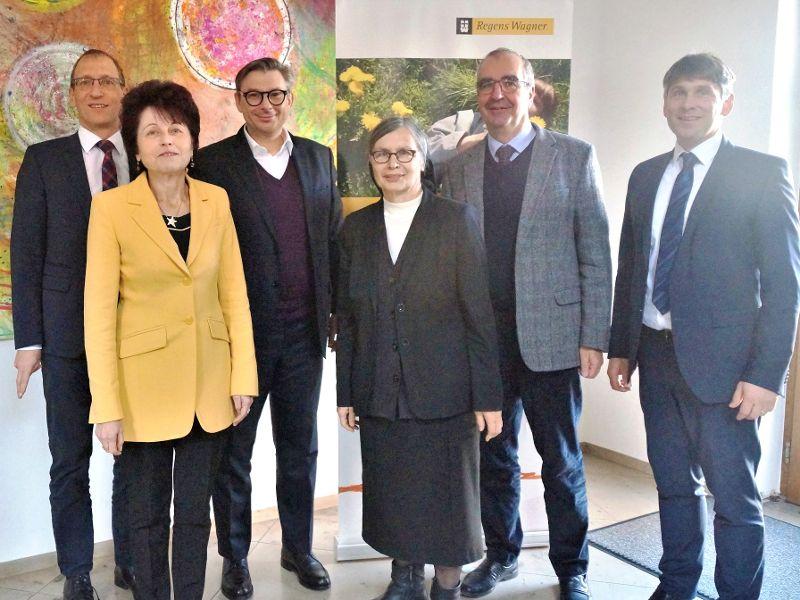 Neuer Bischöflicher Finanzdirektor zu Besuch bei den Regens-Wagner-Stiftungen