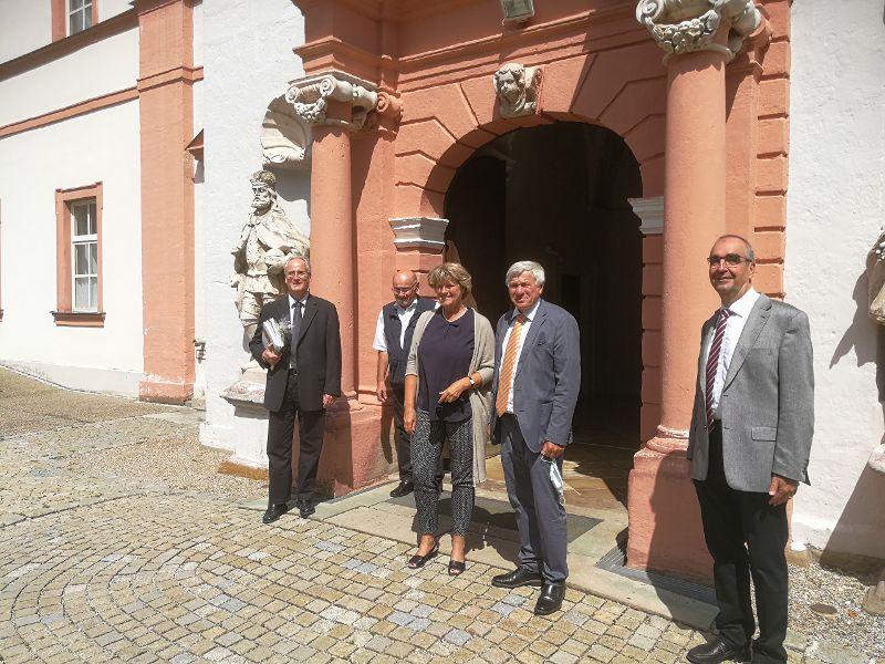 Staatsministerin zu Besuch bei Regens Wagner Michelfeld