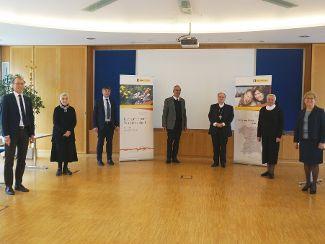 Bischof Dr. Bertram Meier im Gespräch mit Regens Wagner