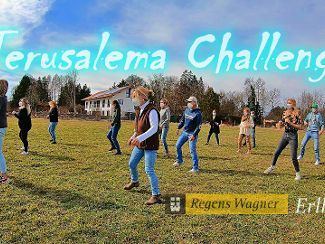 Regens Wagner Erlkam beteiligt sich an Jerusalema-Challenge