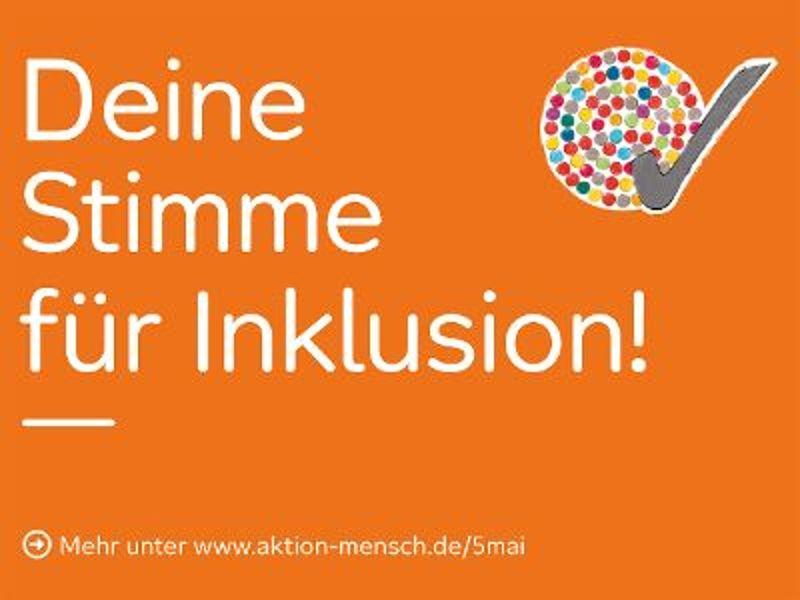 Deine Stimme für Inklusion - mach mit!